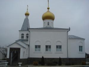 южная сторона храма